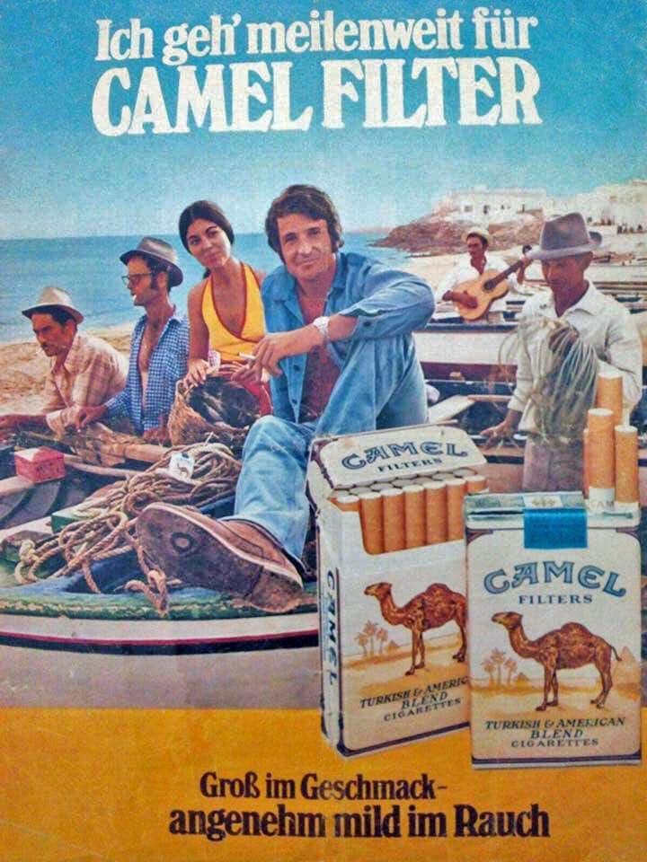 Cigarrillos Camel en Playa Blanca