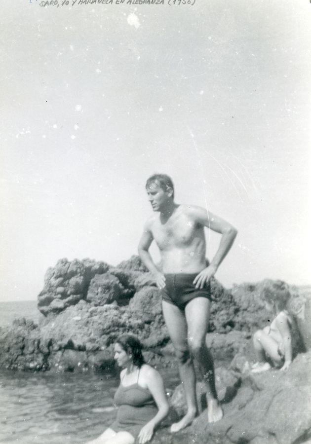 Agustín Pallarés en Alegranza