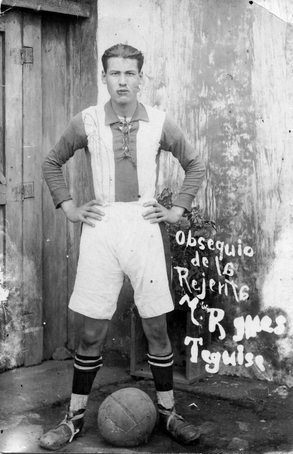 Futbolista de Teguise