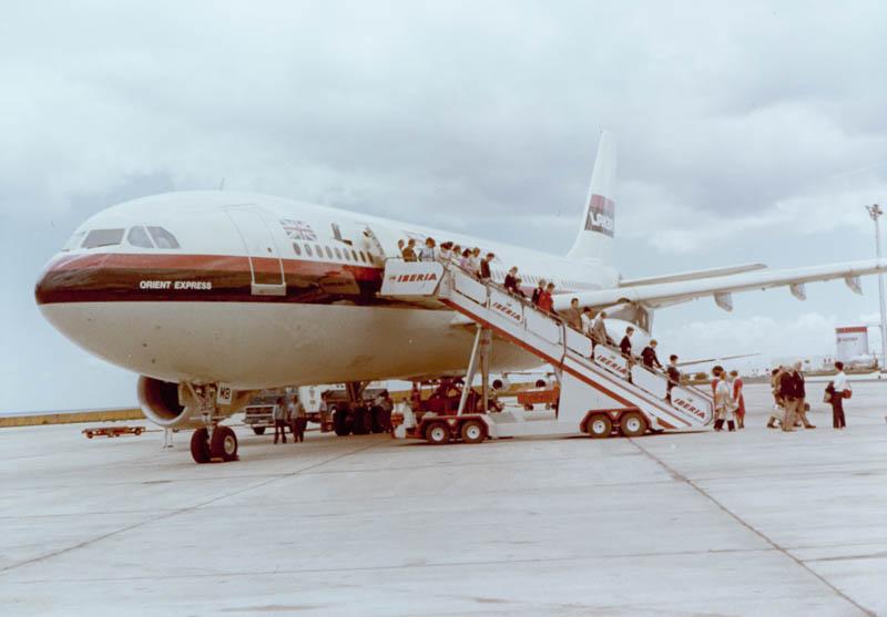 Primer Airbus en Lanzarote I