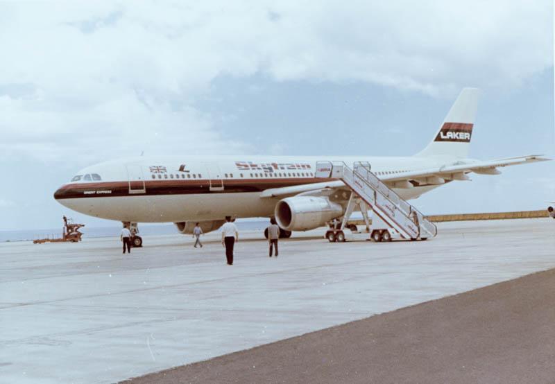 Primer Airbus en Lanzarote II