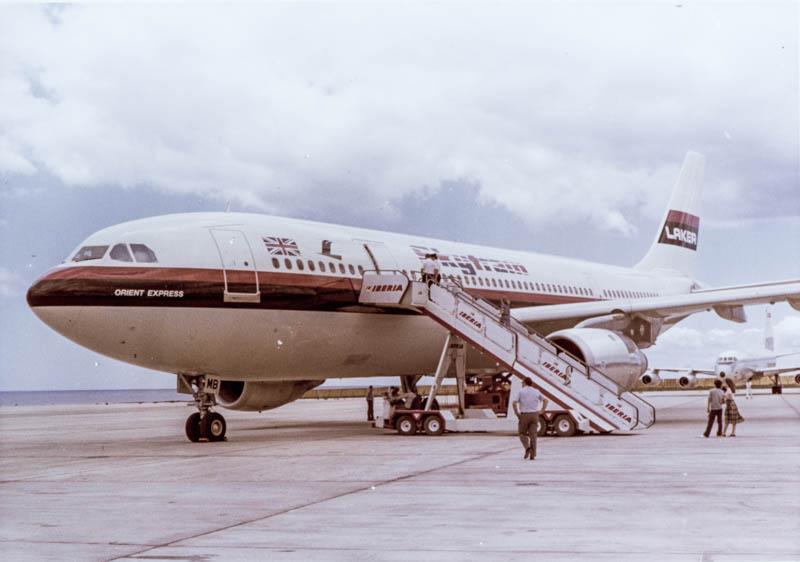 Primer Airbus en Lanzarote III