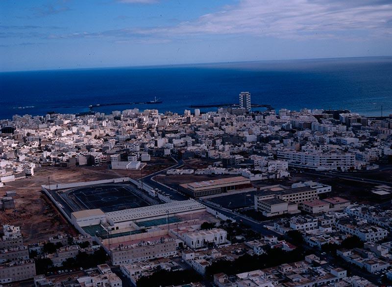 Vista aérea de la Ciudad Deportiva Lanzarote III