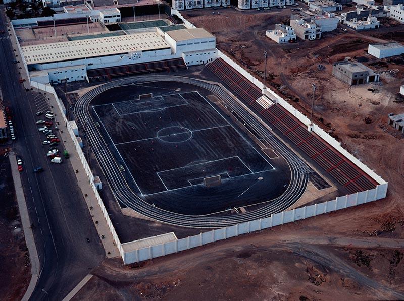 Vista aérea de la Ciudad Deportiva Lanzarote I