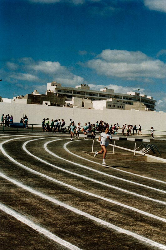 Atletismo en la Ciudad Deportiva Lanzarote