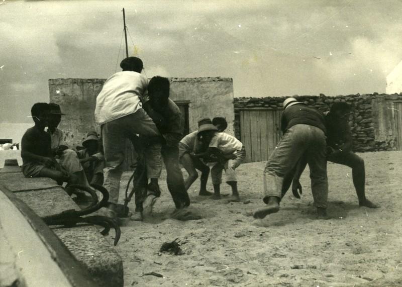 Niños jugando en La Graciosa