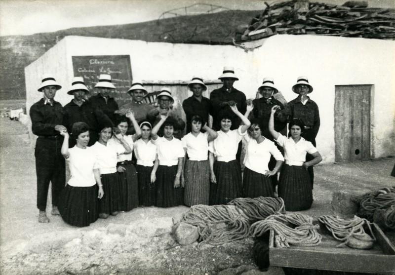 Grupo folklórico en La Graciosa I