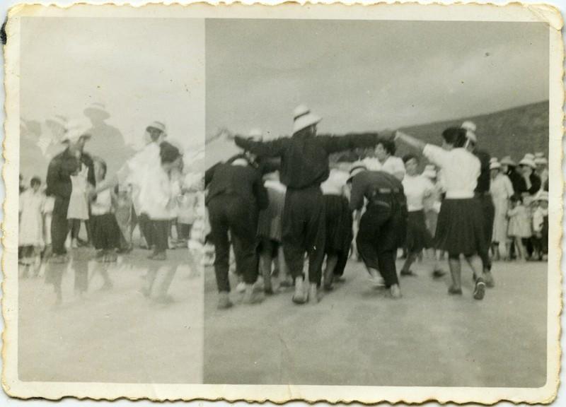 Grupo folklórico en La Graciosa II