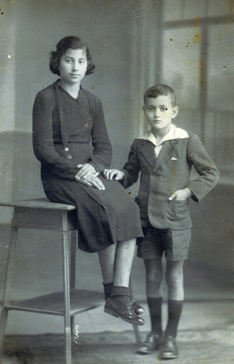 Javier Reyes de niño