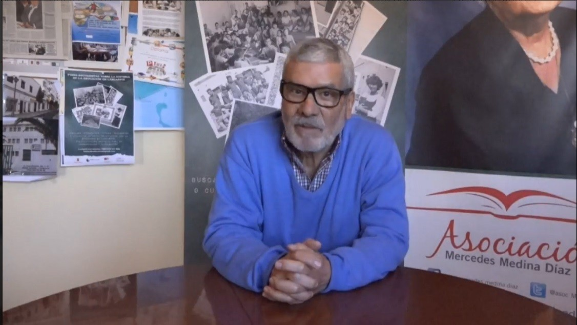 Entrevista a Carmelo García Déniz
