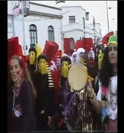 Coso del carnaval de Arrecife 1996