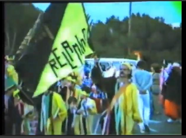 Coso del carnaval de Arrecife 1985