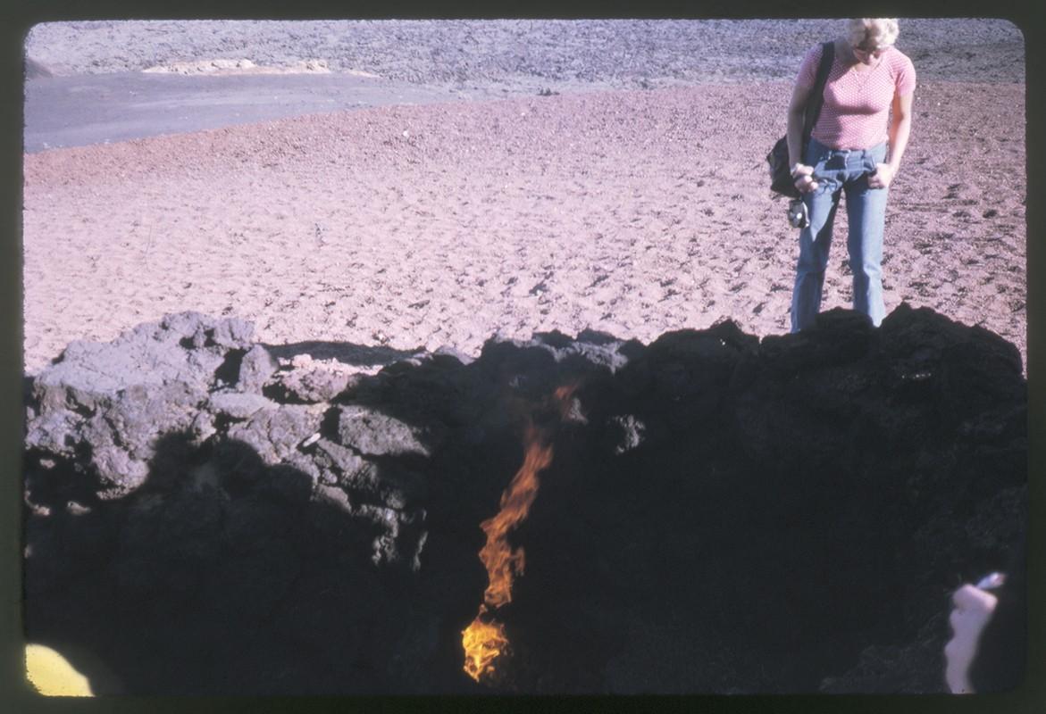 Hoguera en las Montañas del Fuego II