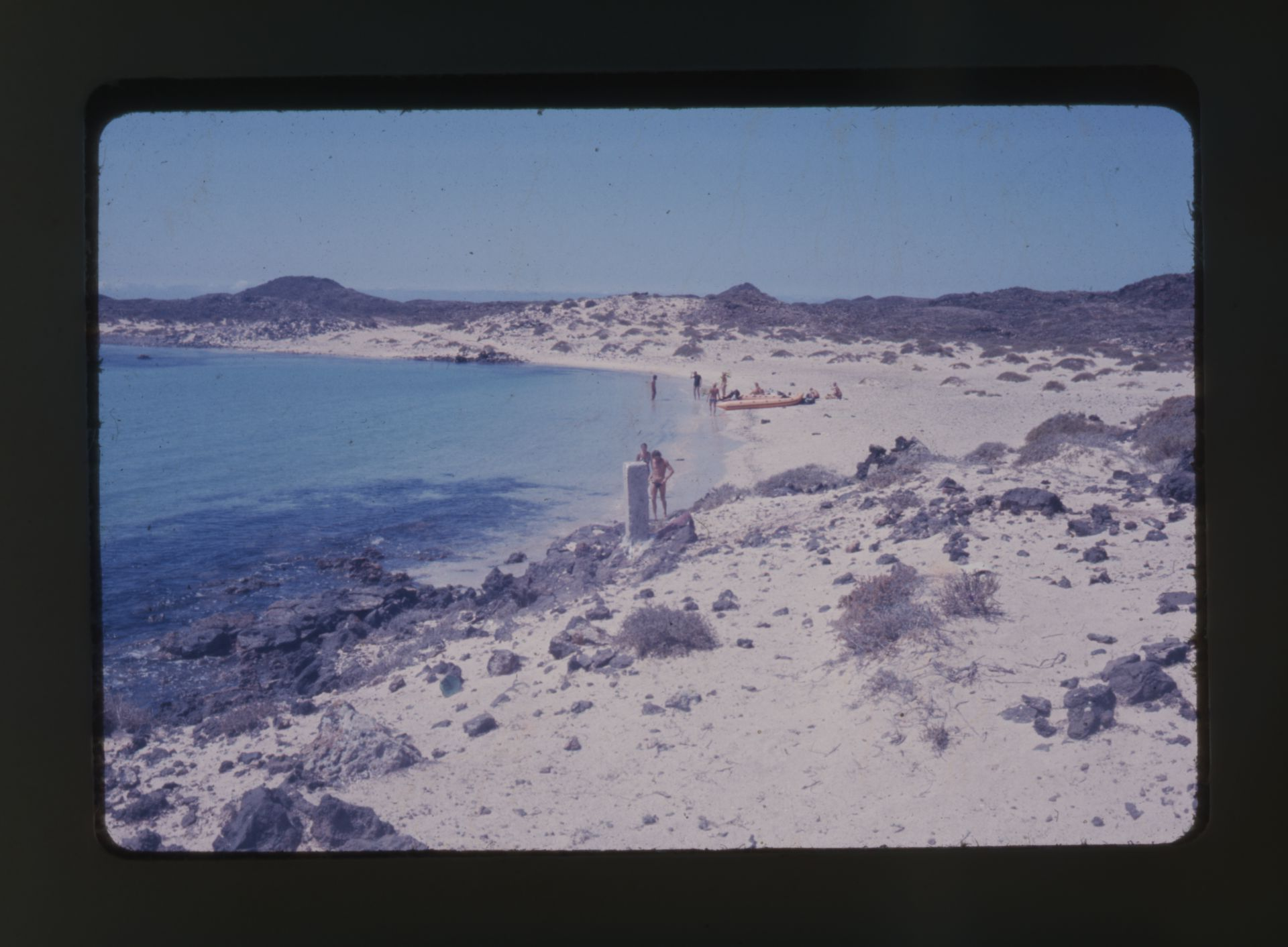 Cala en Isla de Lobos