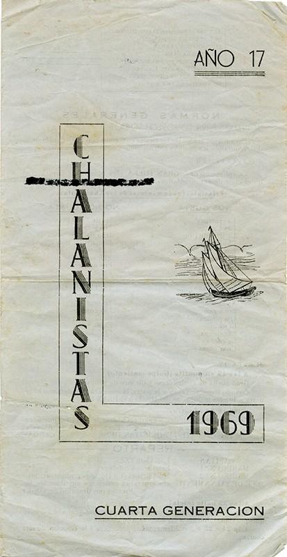 Programa de Los Chalanistas 1969