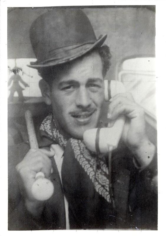 Tomás Chacón de carnaval