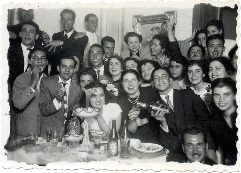 Amigos y familiares de celebración I