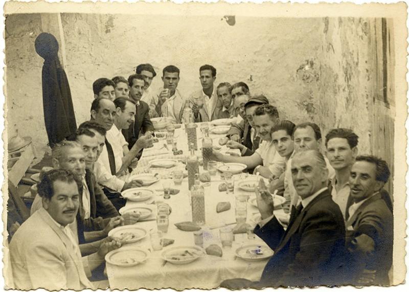 Almuerzo entre amigos