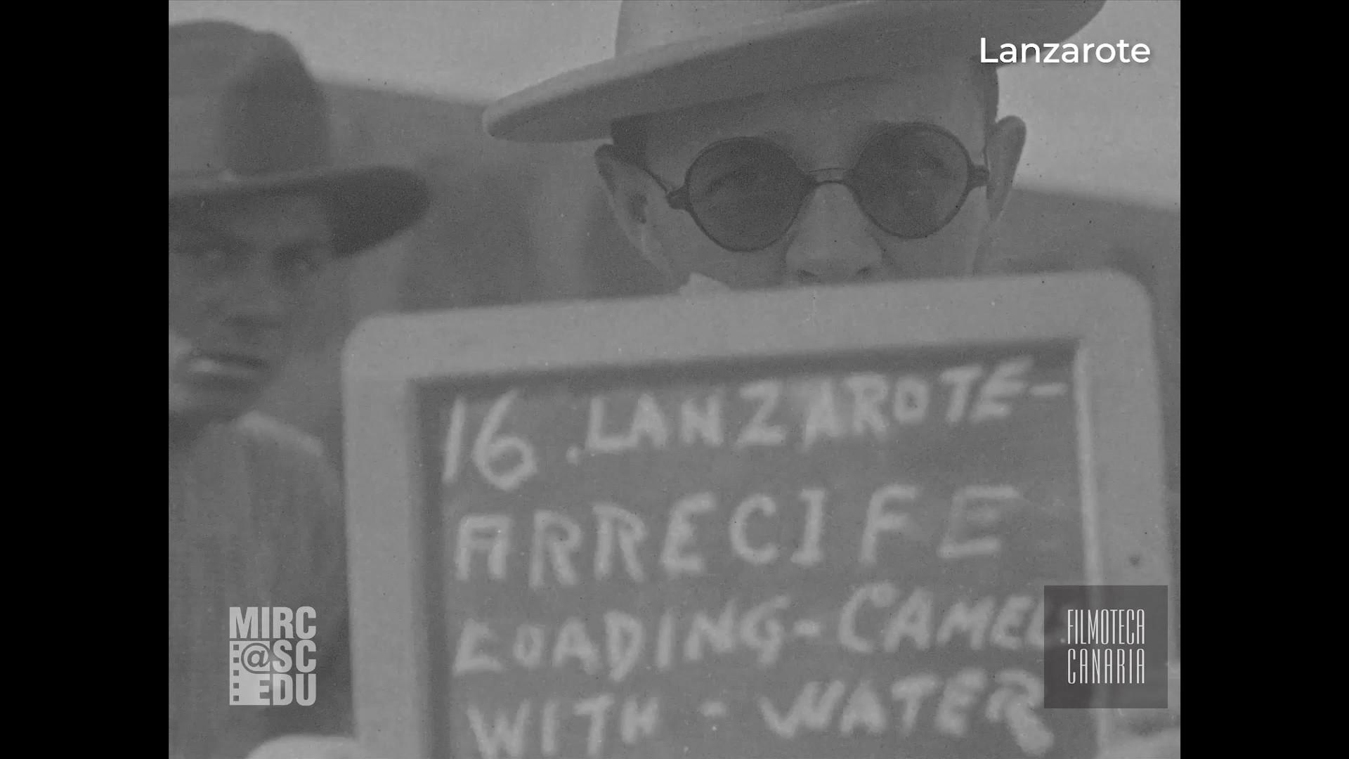 Imágenes de Lanzarote filmadas por la FOX (1925)