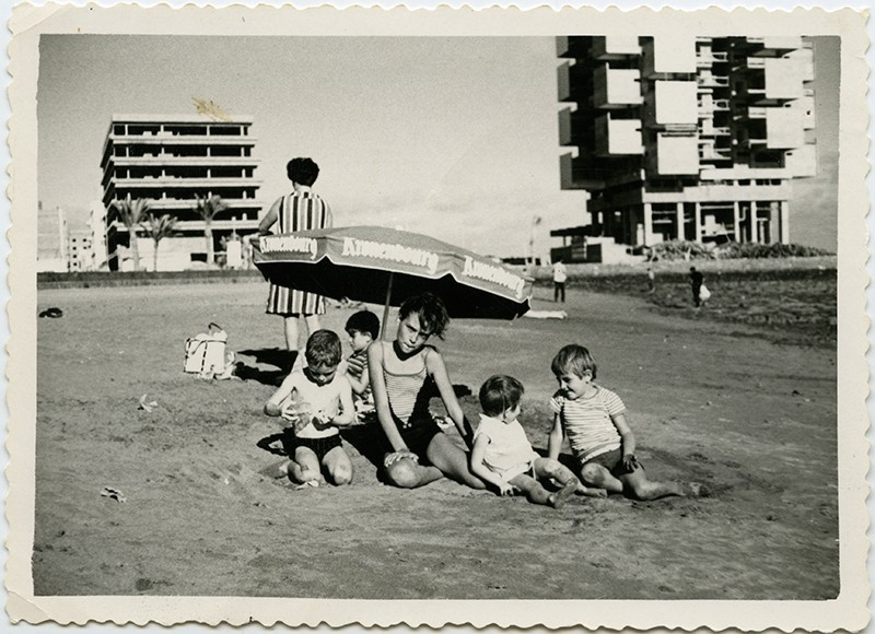 Familia en la playa del Reducto II