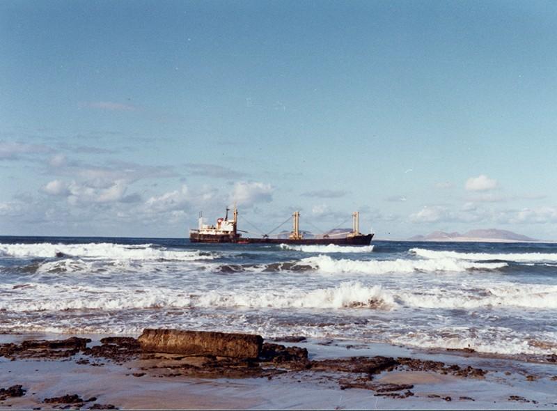 Barco hundido de Famara II