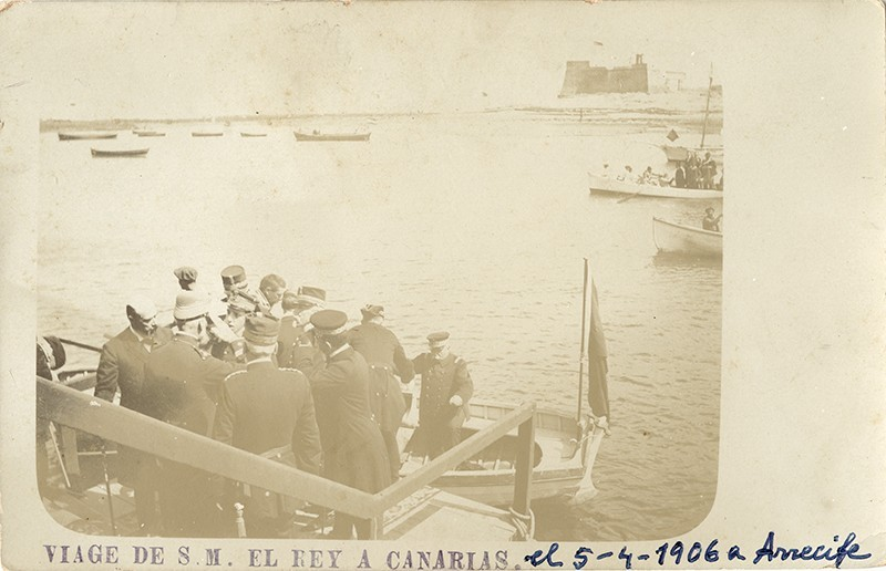 Visita de Alfonso XIII a Arrecife XVI