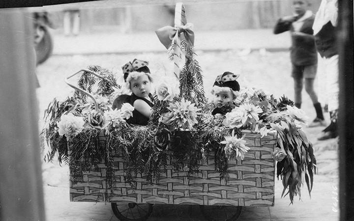 Bebés disfrazados en Lanzarote