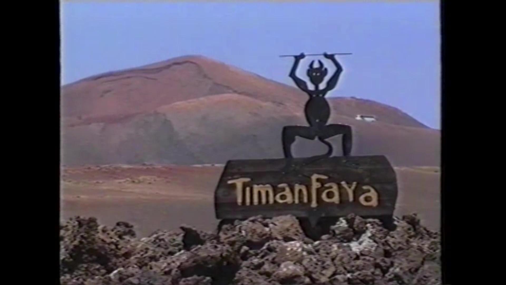 Timanfaya en 'La isla de los volcanes' (1990)