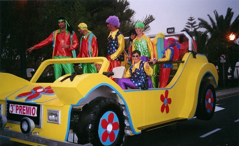 Carroza de carnaval I