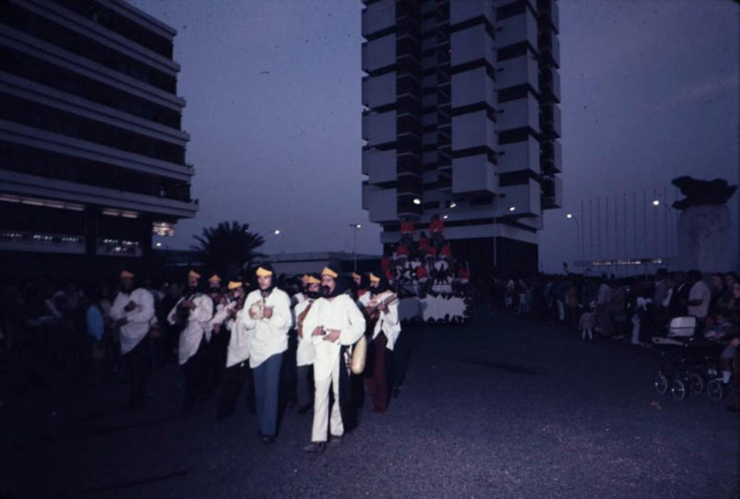 Coso del carnaval 1972 X