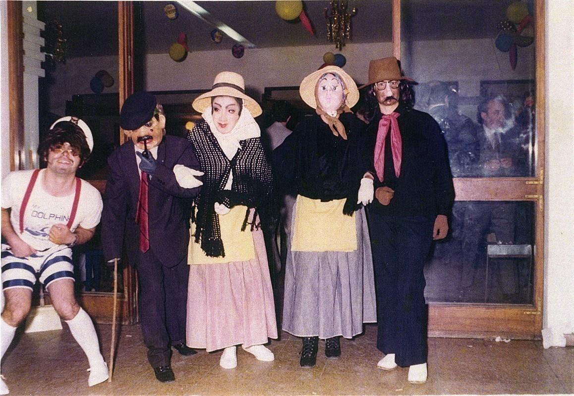 Amigos en carnaval II