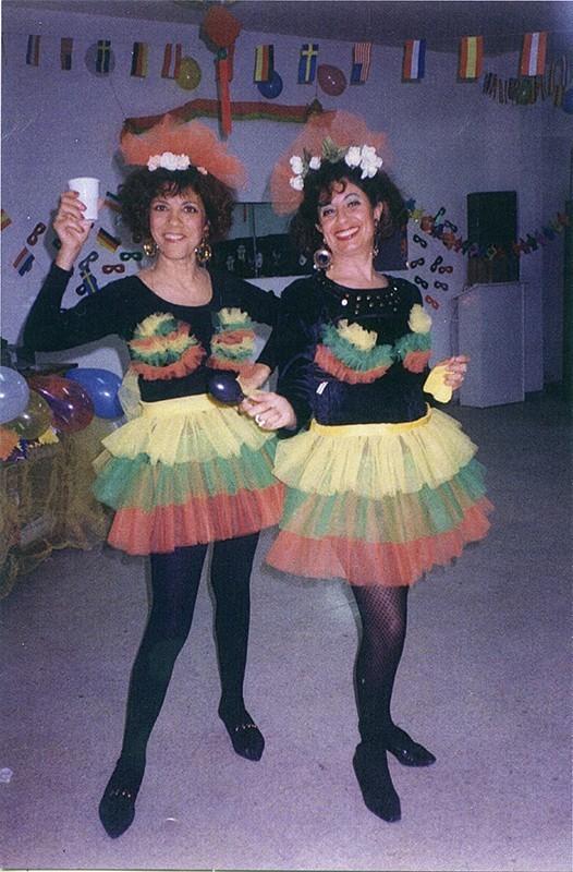 Amigas de carnaval VIII