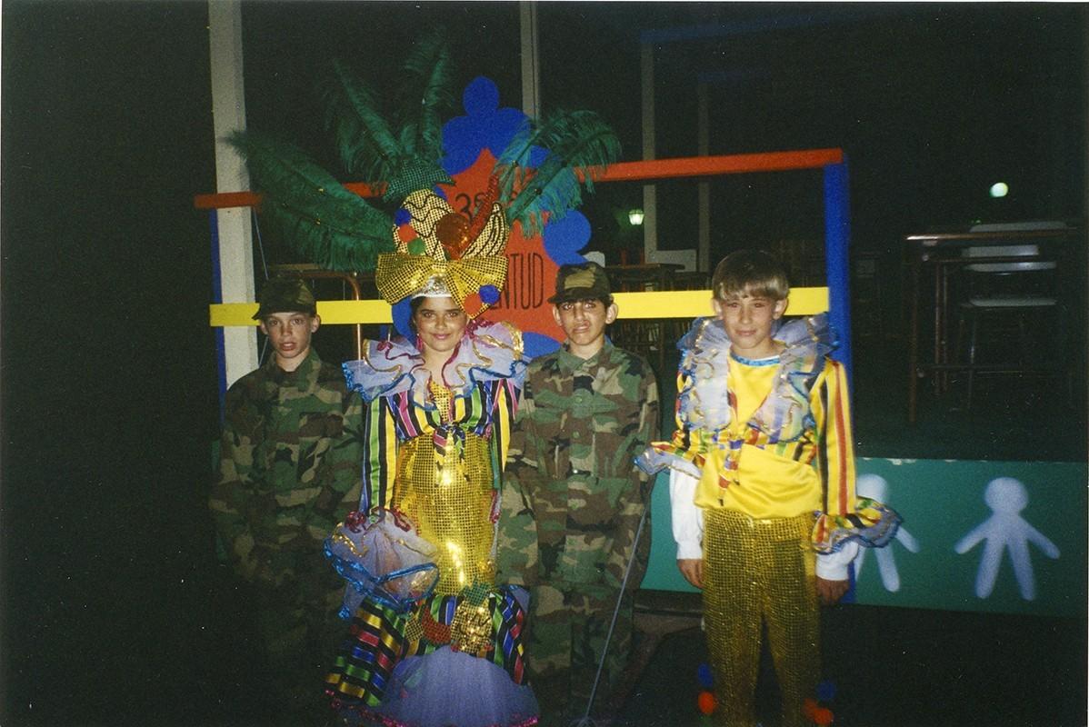 Niños en carnaval