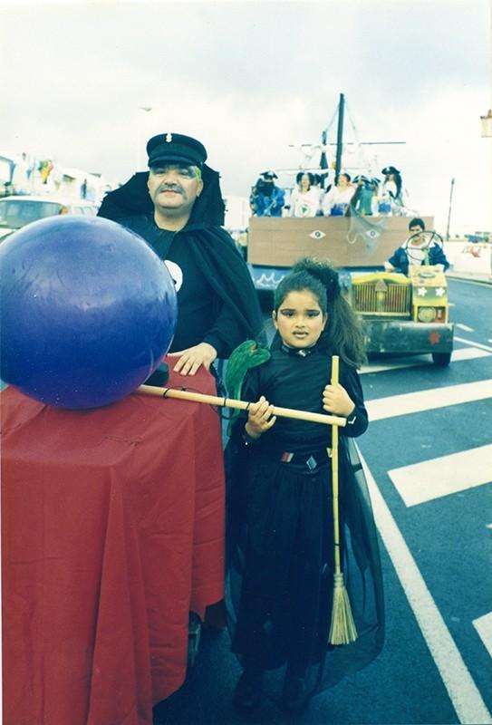 Padre e hija de carnaval I