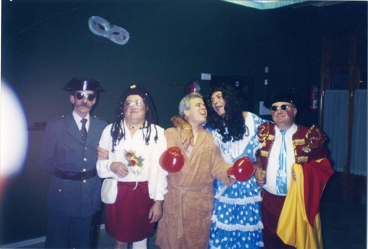 Rocío Jurado y familia