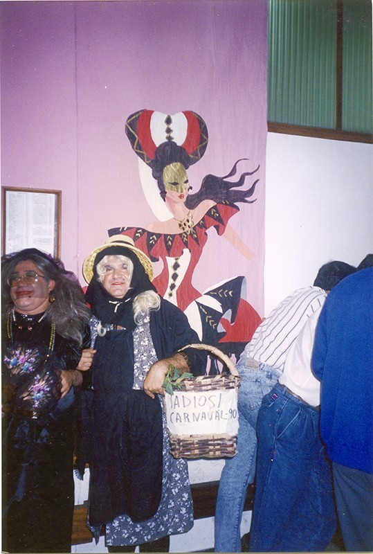 Campesina carnavalera IV