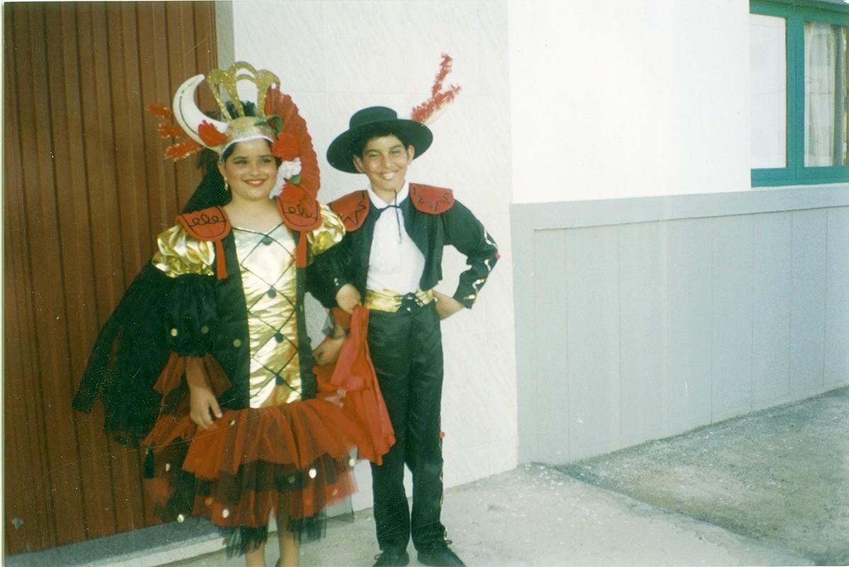 Niños en carnaval I