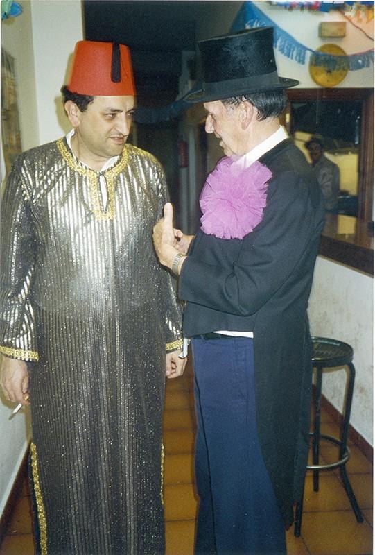 Juan Negrín de carnavales III