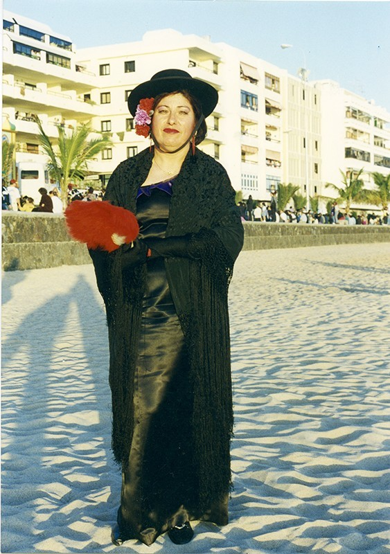 Cordobesa en la playa