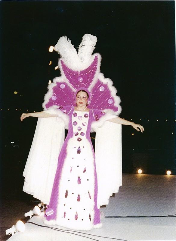 Gala Reina del carnaval VIII