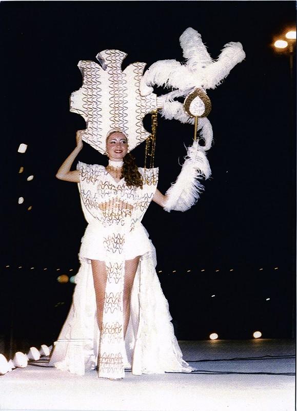 Gala Reina del carnaval XV