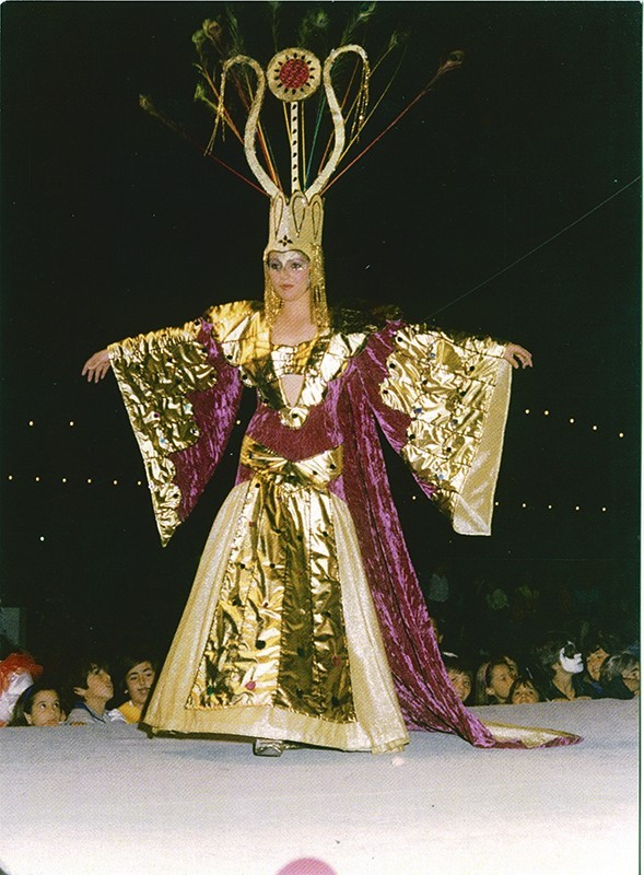 Gala Reina del carnaval XVIII