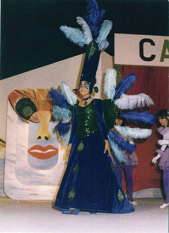 Gala Reina del carnaval XIX
