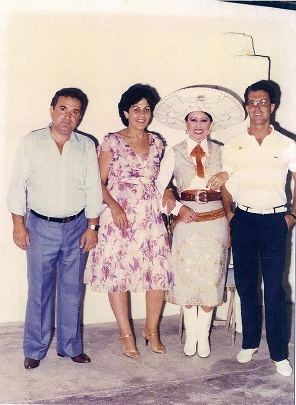 Nina Martín y José García