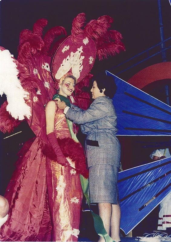 Gala Reina del carnaval XXI
