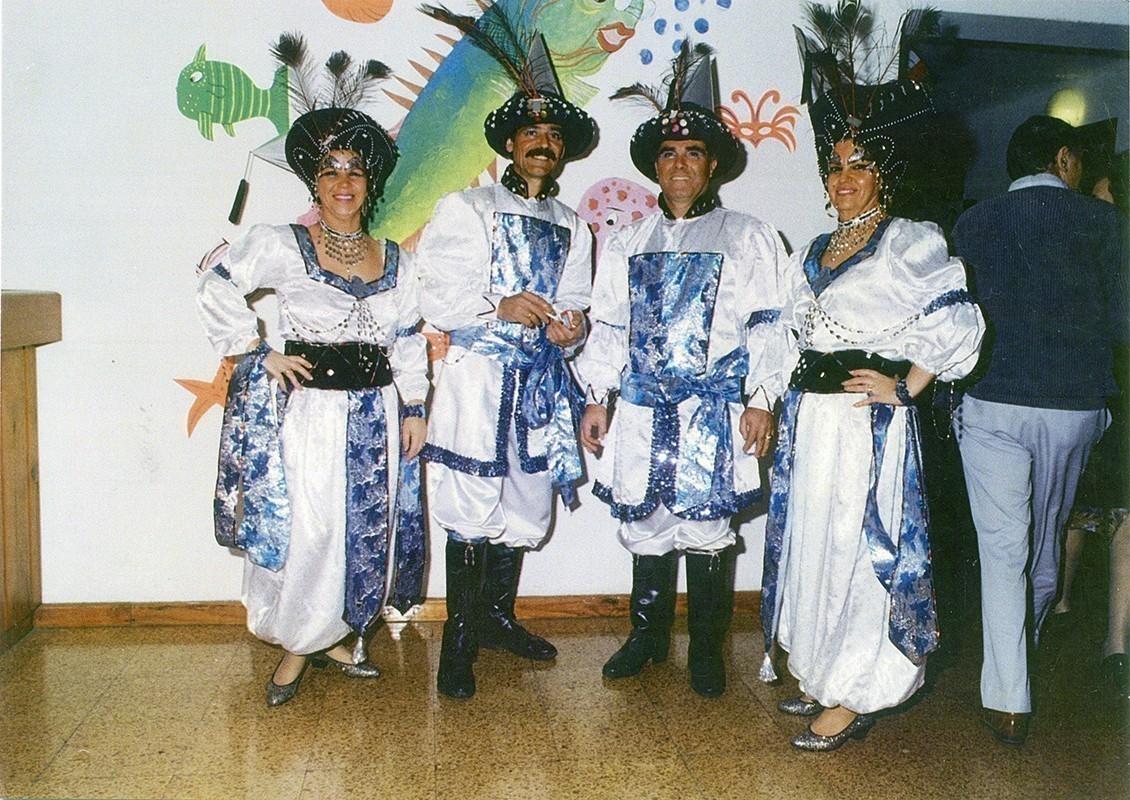 Carnaval con amigos