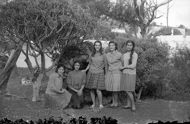 Grupo de jóvenes en Villa Dolores