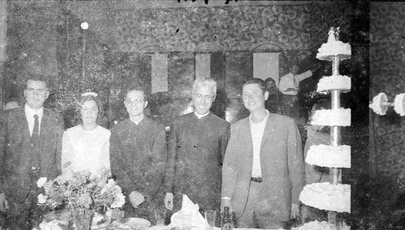 Novios en el Casino de Máguez