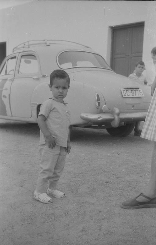 Niño en Órzola