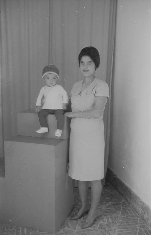 Madre y su niño